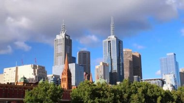 Melbourne city in Australia — Video Stock