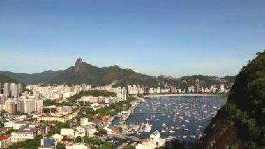 Amazing view of Rio de Janeiro — Stock Video
