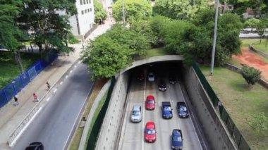 Traffic in Sao Paulo — Stock Video