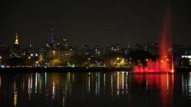 Ibirapuera Park in Sao Paulo — Stockvideo
