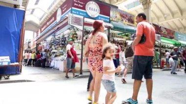 Municipal Market in Sao Paulo — Stock Video