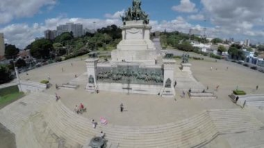 Independence Monument in Sao Paulo — Stock Video