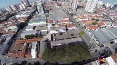 Tatuape neighborhood in Sao Paulo — Wideo stockowe