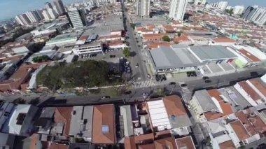 Tatuape neighborhood in Sao Paulo — Stock Video