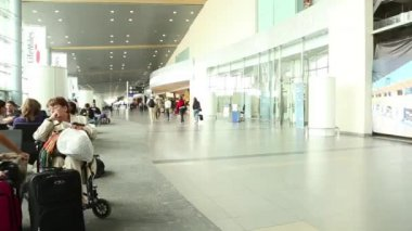 Eldorado Airport in Bogota — Stock Video