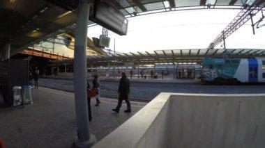 Treni Italia Station in Rome, Italy — Stock Video