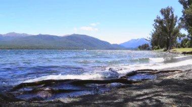 Te Anau in New Zealand — Stock Video