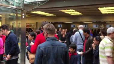 Apple store in New York — Stock Video