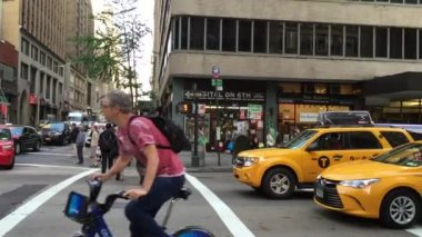 The busy city of NYC — Wideo stockowe