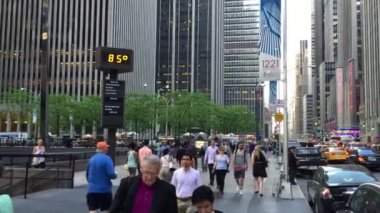 The busy city of NYC — Stok video