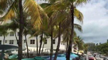 ESPN Hotel in Miami Beach — Stock Video
