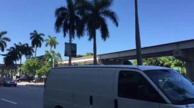 Miami Downtown in Florida — Stock Video