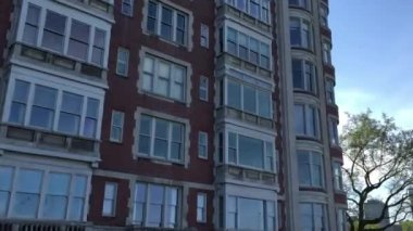 Historic building in Chicago — Video Stock