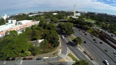 23 May Avenue in Sao Paulo — Stock Video