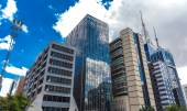 Buildings in Paulista Avenue in Sao Paulo — Stock Photo