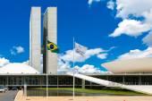 Congreso nacional brasileño en brasilia — Foto de Stock