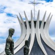 Cathedral of Brasilia in Brazil — Stock Photo #75852831