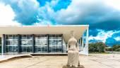 Supreme Federal Tribunal in Brasilia — Stock Photo
