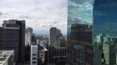 Timelapse of buildings in Sao Paulo, Brazil — Stock Video