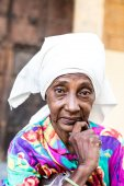 Portrait of a cute cuban woman — Stock Photo