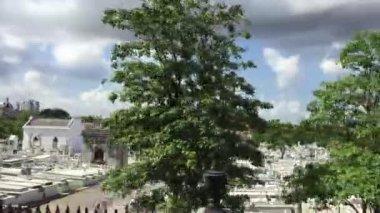 Christopher Columbus Cemetery in Havana, Cuba — Stock Video