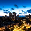 Sunset in Vedado neighborhood in Havana, Cuba — Stock Photo #78724642
