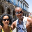 Portrait of a Cuban couple in Havana, Cuba — Стоковое фото #79165534