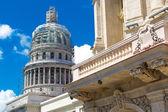 The famous Capitol building in Havana, Cuba. — Stock Photo