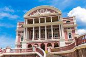 Amazon Theater in Manaus, Brazil — Stock Photo