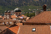 Church of old town Kotor — Stock Photo