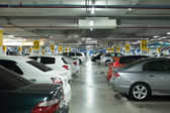 Parking lot — Stock Photo