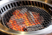 Empty barbeque grill — Stock Photo