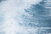 Sea wave with foam — Stock Photo