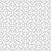 Ethnic abstract hand-drawn seamless pattern — Stock Vector