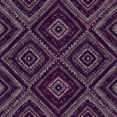 Ethnic abstract hand-drawn seamless pattern — 图库矢量图片