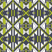 Funky Abstract Geometric Seamless Pattern — Vector de stock