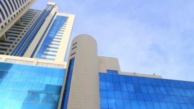 Astana, Modern futuristik binalar, Kazakistan 20.02.2014 — Stok video