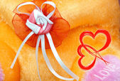Abstract flower love background — Stockfoto