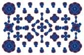 Decorative floral pattern motif — Stock Photo