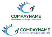 Conference logo - EPS format available. — Stock Vector