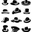 Hats collection set — Stock Vector #56422997