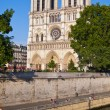 Notre Dame Cathedral, Paris, France. — Stock Photo #52686055