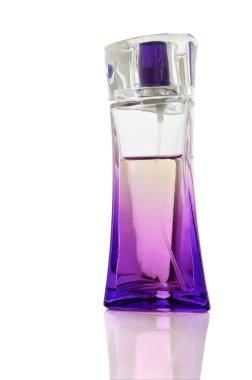 Lilac perfume bottle