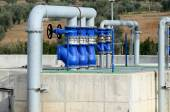 Water treatment plant - detail — Stock Photo
