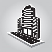 Office Building icon — Stock Vector