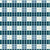 Naadloze patroon geometrische vierkante tegels achtergrond — Stockvector