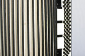 Accordion abstract horizontal — Stock Photo
