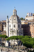 Santa Maria di Loreto church in Rome, Italy — Стоковое фото