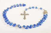 Religion symbol rosary fro prayers — Stock Photo