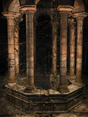 Old gothic well — Stock Photo